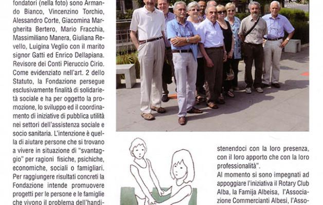 Rivista Langhe 2013 – Dal dire al fare per gli svantaggiati del territorio albese